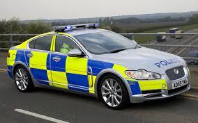 Jaguar XF police