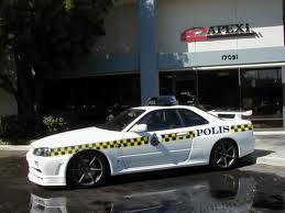 Nissan Skyline R34 GT-R police