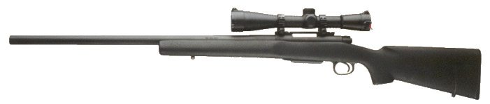 police sniper rifle