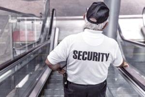 security officer criminal justice